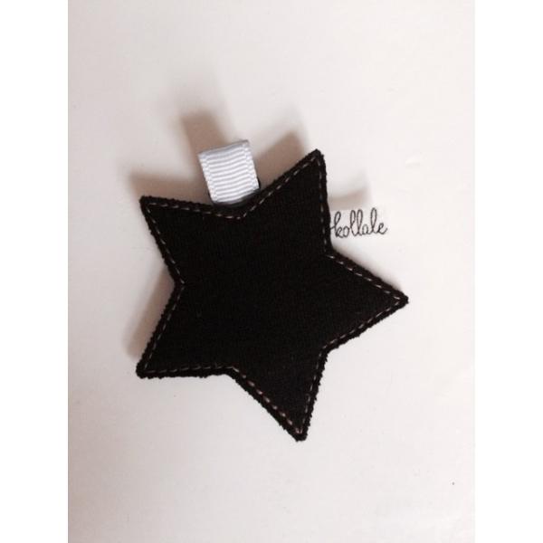 Kollale Black Star Haarspange