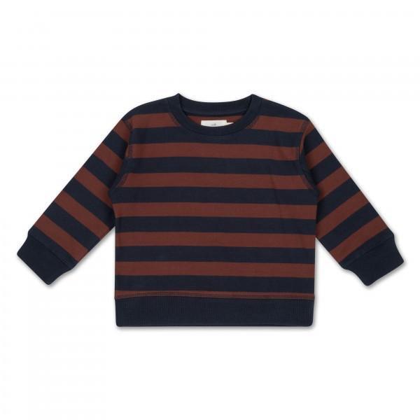 konges slojd Sweatshirt, Lou, Navy/Mocca