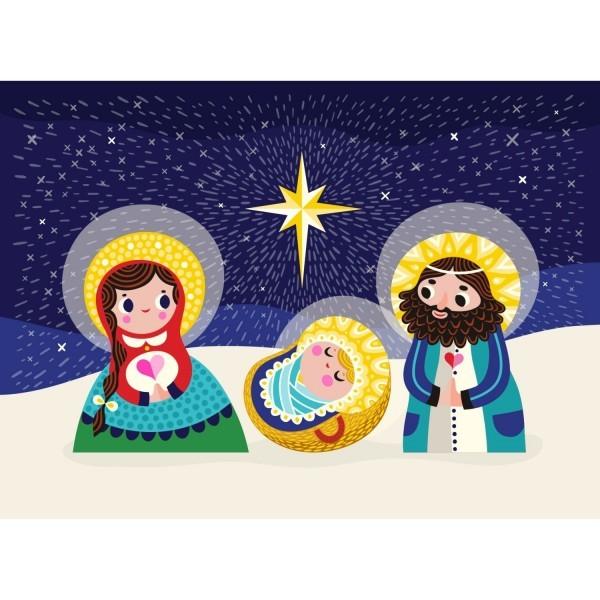 Postkarte Maria&Joseph