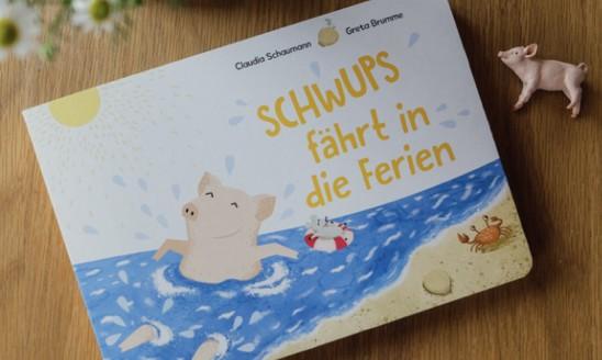 Schwups fährt in die Ferien, Claudia Schaumann