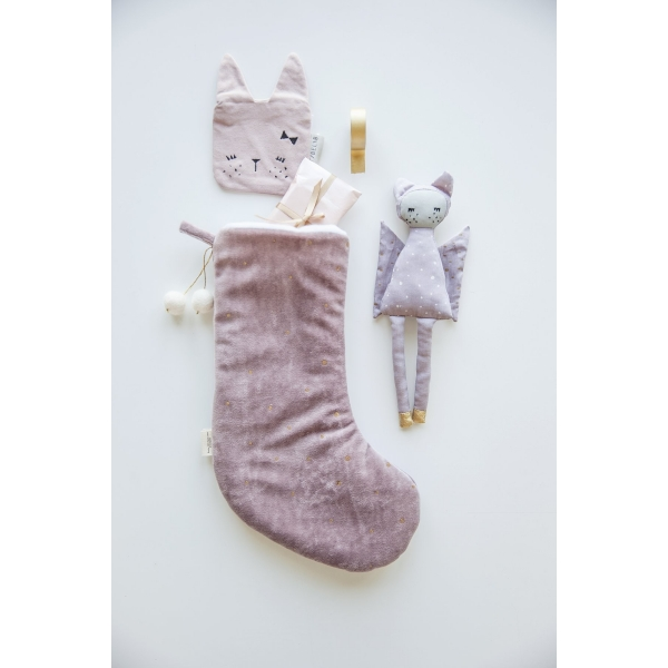 Christmas Stocking Dreamy, mauve