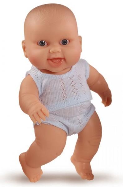 Paola Reina Baby Doll European Boy (blau Kleidung), klein