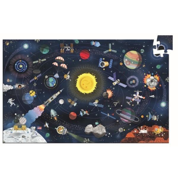 "Djeco Puzzle ""Der Weltraum"""