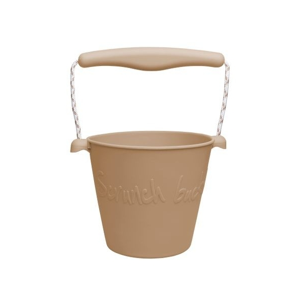 Scrunch Bucket Eimer, hell braun