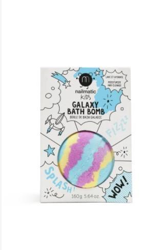 Nailmatic Badebombe, Galaxy,blau