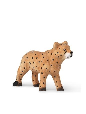 Ferm Living Handgeschnitzter Gepard