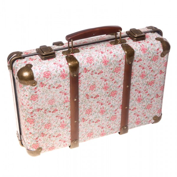 Vintage Koffer - Blumen