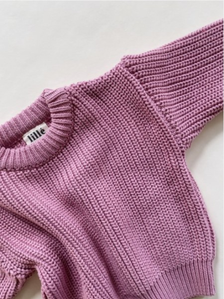 """Lille Sweater """"Chunky"""", Rose"""