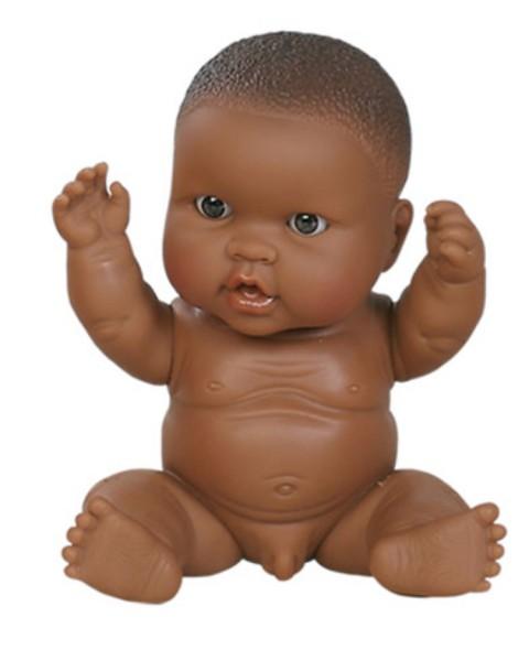 Paola Reina Puppe, Baby Doll African Boy, klein