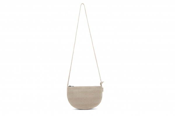 Monk&Anna Farou Half Moon Bag Linen