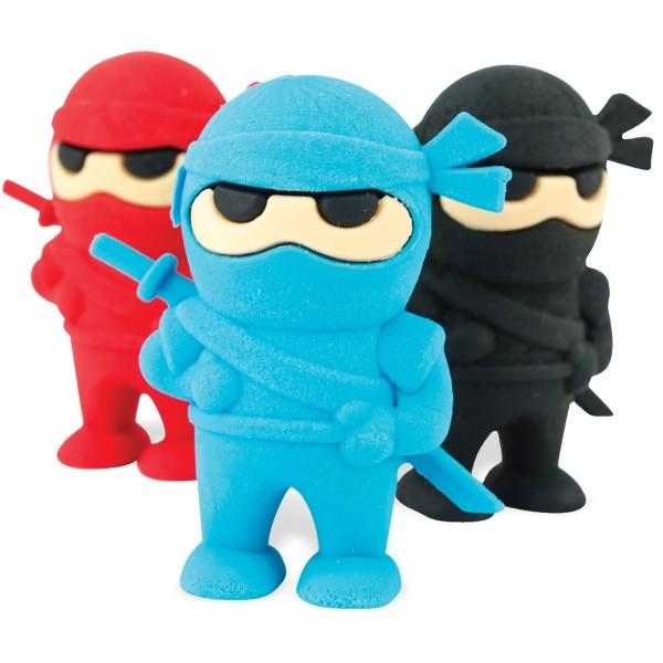Ooly Radiergummis, Ninja, 3-er Set