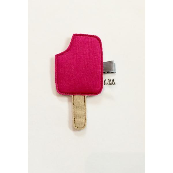 Kollale Haarspange Eis Pink
