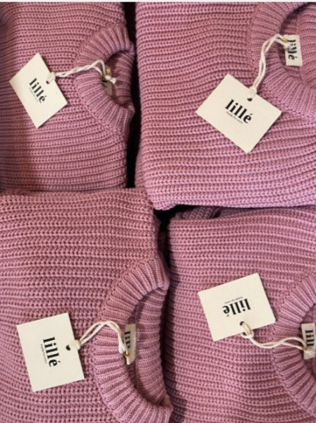 """Lille Woman Sweater """"Chunky"""", Rose"""
