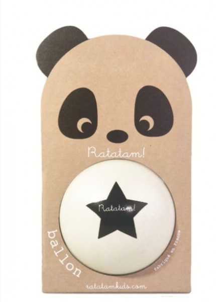 Ratatam Panda Ball weiß, klein