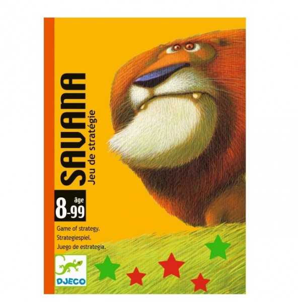 Djeco Kartenspiel Savana