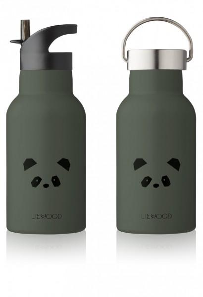 """Liewood Trinkflasche """"Anker""""Panda , hunter green"""