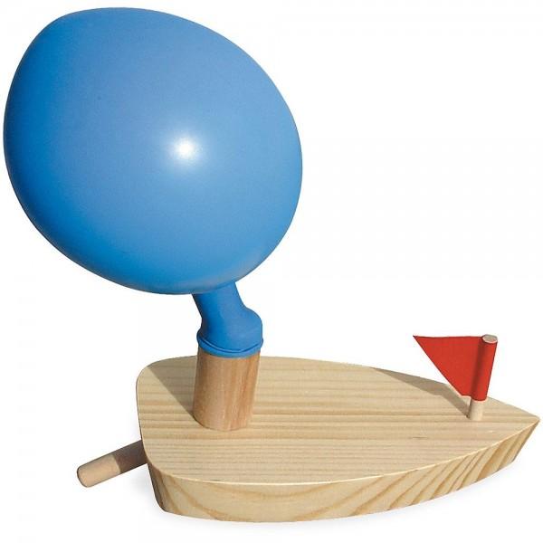 Vilac Boot mit Ballonantrieb