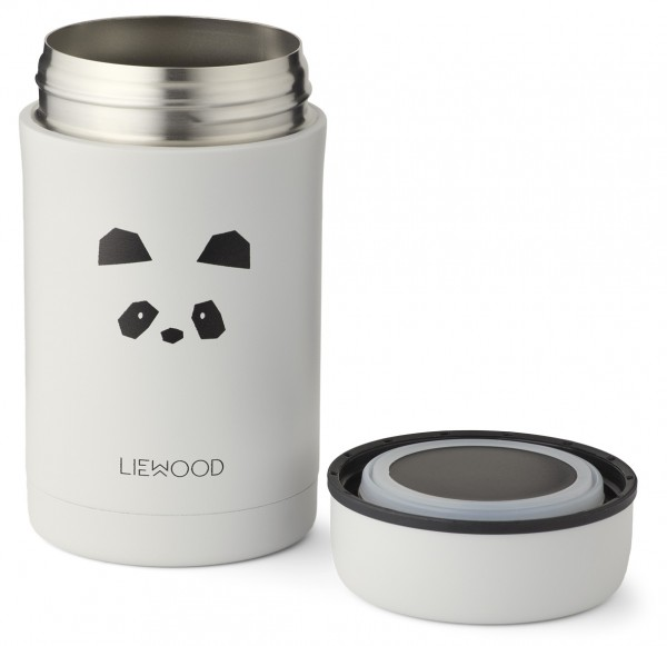 "Liewood Thermo Dose ""Bernard"", Panda, light Grey"