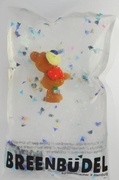 Breenbüdel Kühlkissen mit Bär mit Blumen Figur