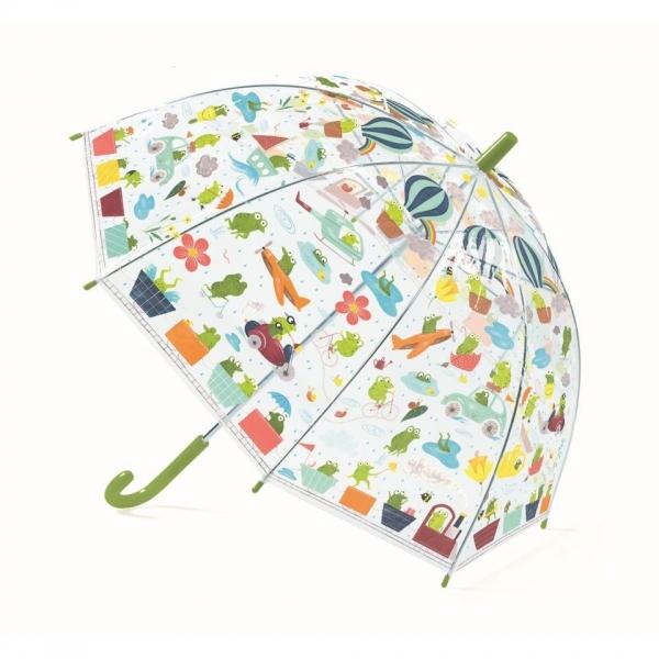 "Djeco Kinder Regenschirm ""Fröschlein"""