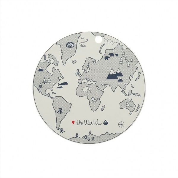 "OYOY Tischset ""World"""