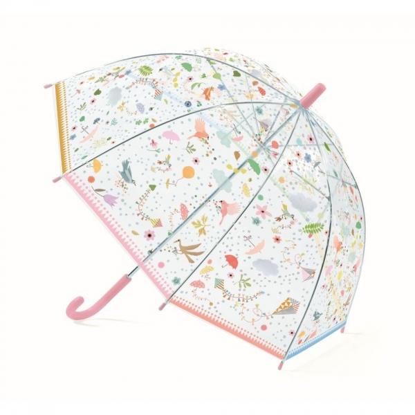 """Djeco Kinder Regenschirm """"Kleine Freuden"""", rosa"""