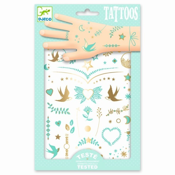 djeco Tattoos Lily´s Jewels