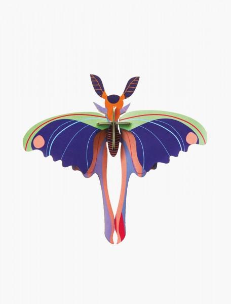 Studio Roof Wanddekoration, Blue Comet Butterfly