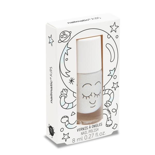 Nailmatic Kinder-Nagellack White Glitter
