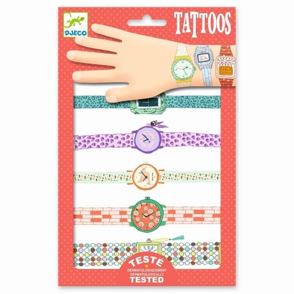 djeco Tattoos Wendys Armbanduhren