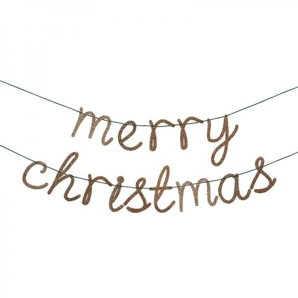 Meri Meri Merry Christmas Girlande