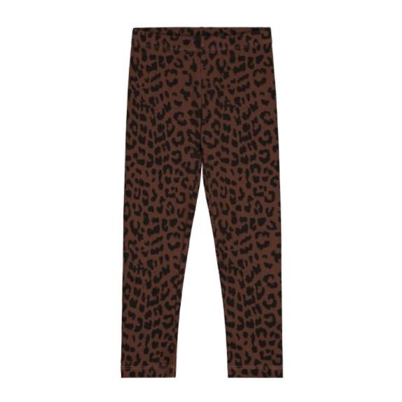Daily Brat Leggings Leopard, hickory brown