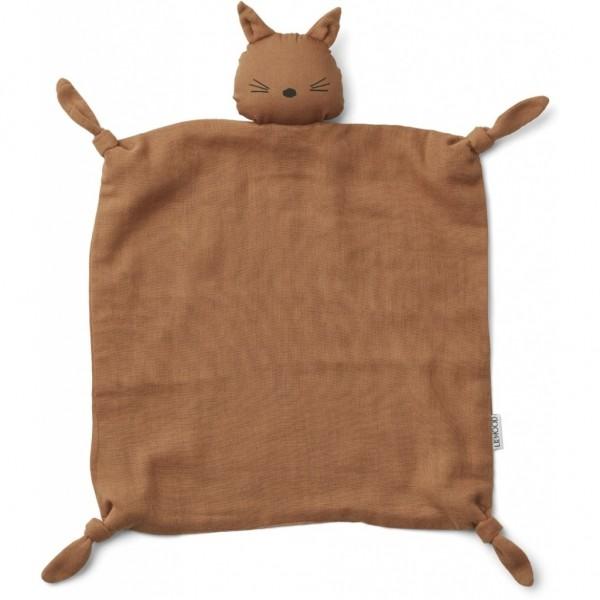Liewwod Schnufeltuch Agnete Cat, Terracotta