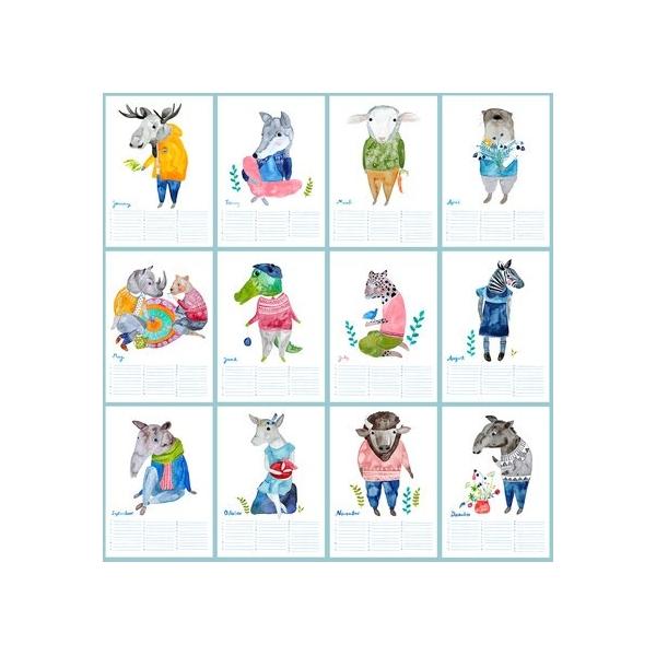 Frau Ottilie Geburtstagskalender *Neverending Calendar*