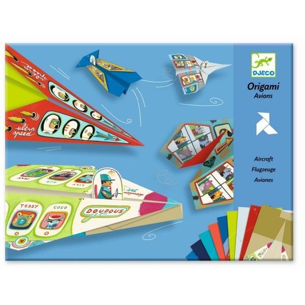Origami Flugzeuge Djeco