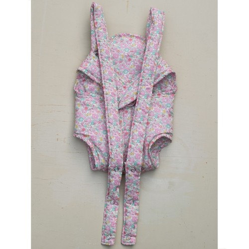 Elselil Puppe-Babytrage Liberty Rosa