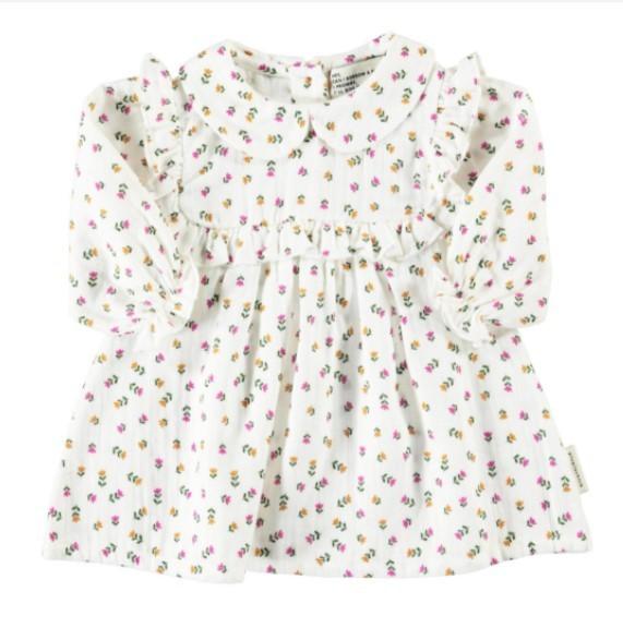 "Piupiuchick Baby Peter Pan Kleid, ""Little Flowers"""