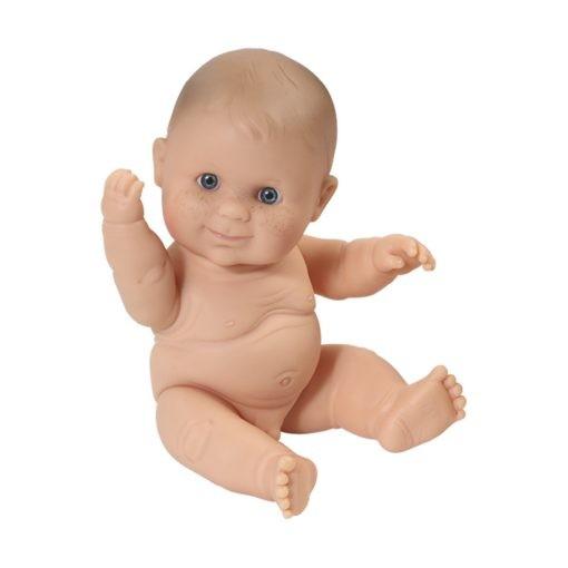 Paola Reina Baby Doll European Boy,klein