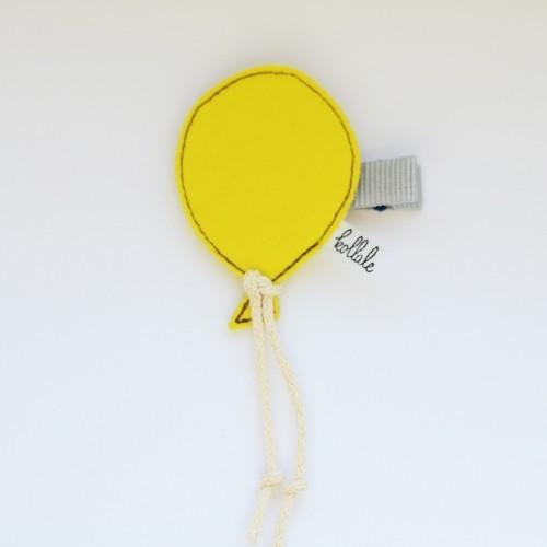 Kollale Haarspange Balon Gelb