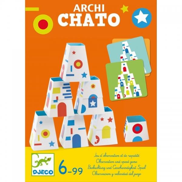 Djeco Archi Chato, Beobachtungs- und Schnelligkeitsspiel