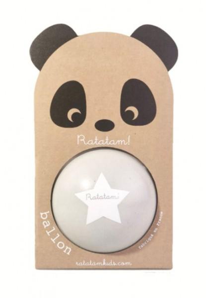 Ratatam Panda Ball grau, klein