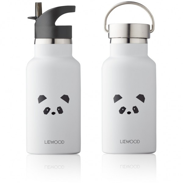 "Liewood Trinkflasche ""Anker"" Panda, light grey"