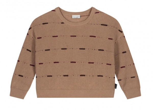 Daily Brat Organic Cotton Sweater , Pecan