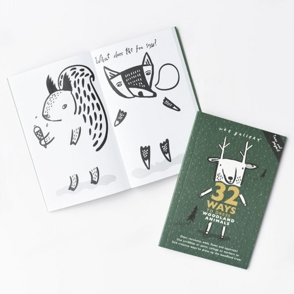 Wee Gallery Activity Book , Woodland Animals