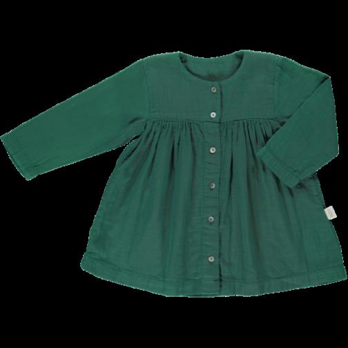 Poudre Organic Kleid bistro green 3Y-8Y