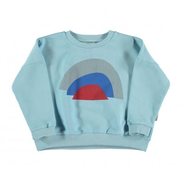 Piupiuchick Sweatshirt Rainbow, mist blue