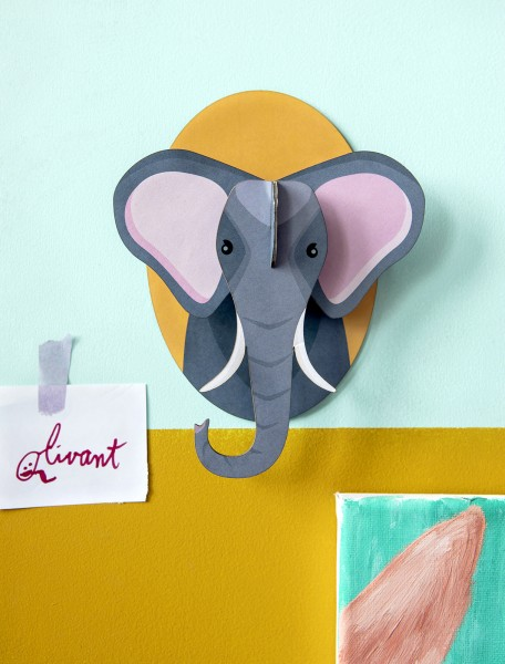 Studio Roof Wanddekoration, Elephant