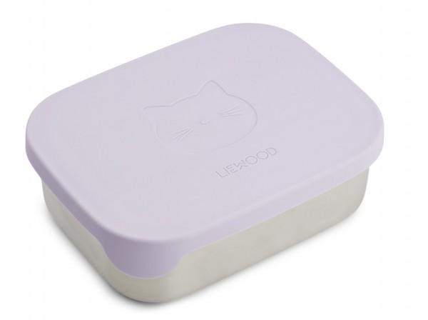Liewood Lunchbox Arthur, Cat, light lavendel