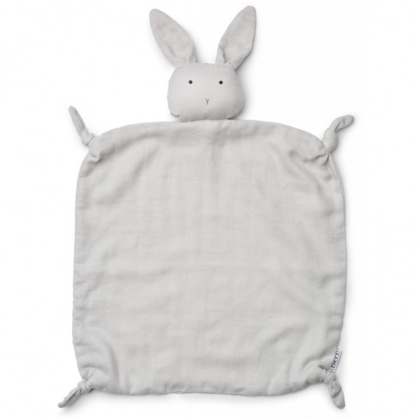 Liewood Schnuffeltuch Agnete Rabbit, dumbo grey