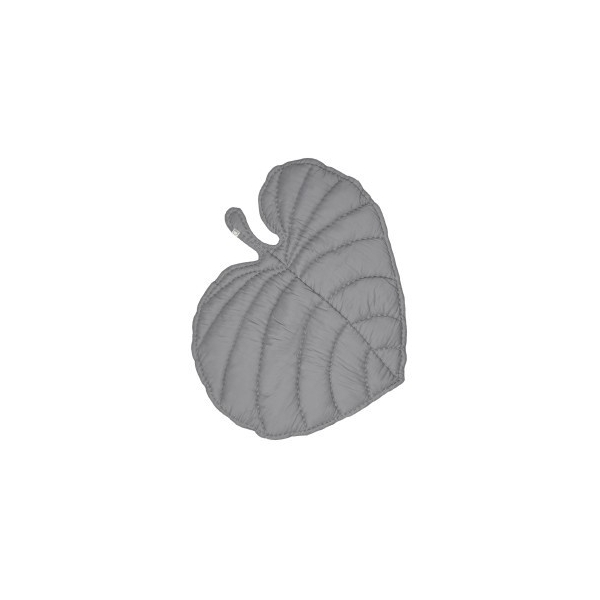 Nofred Leaf Blanket grau